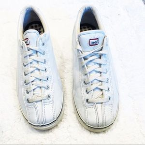 Keds white leather sneakers sz 7.5